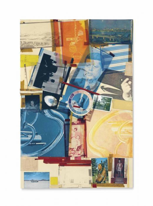 Robert Rauschenberg-Robert Rauschenberg - Untitled-1965
