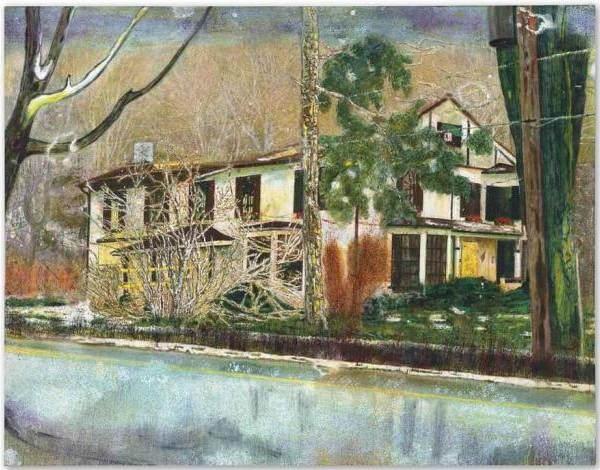 Peter Doig-Pine House (Rooms for Rent)-1994