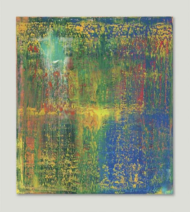 Gerhard Richter-Abstraktes Bild 648-3 (Abstract Painting 648-3)-1987