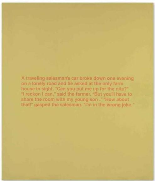 Richard Prince-The Wrong Joke-1988