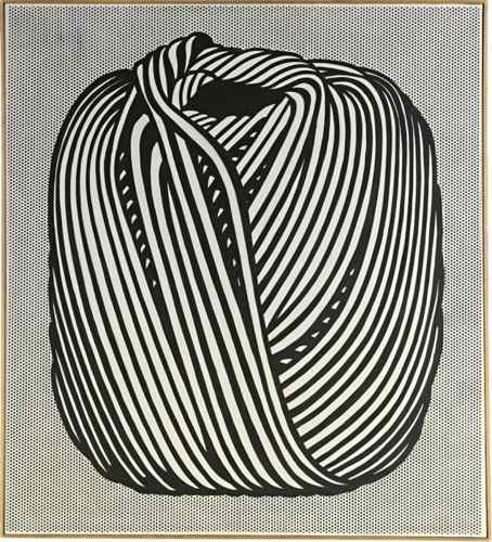Roy Lichtenstein-Ball of Twine-1963