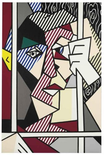 Roy Lichtenstein-The Prisoner-1980