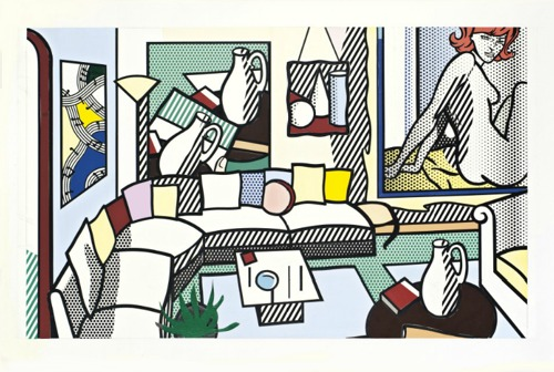 Roy Lichtenstein-Collage for Interior: Perfect Pitcher-1994