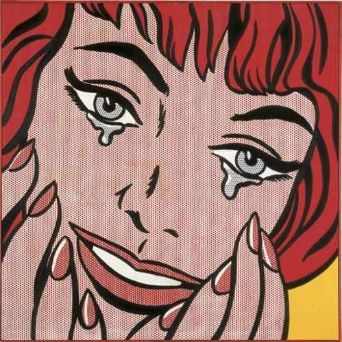 Roy Lichtenstein-Happy Tears-1964