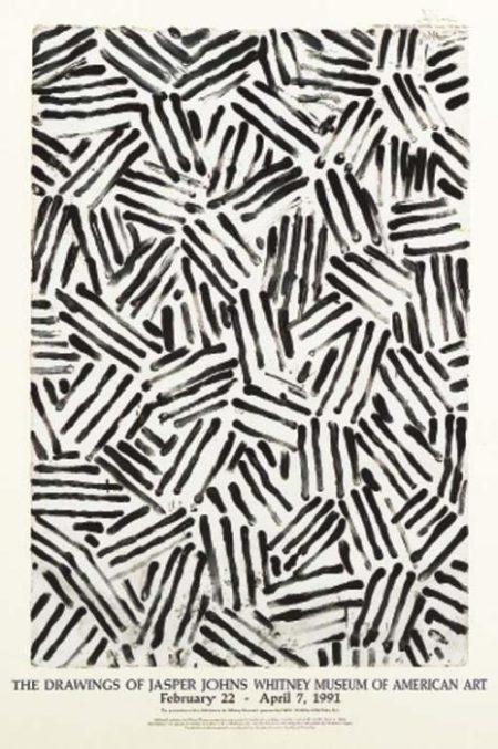 Jasper Johns-(i) Untitled; (ii) Savarin; (iii) Voice 2-1982