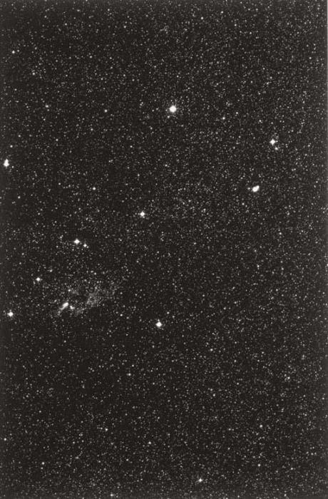 Thomas Ruff-Stars: 03H 09M/-20; 03H 36M/-35; 05H 12M/-70; 08H 24M/-35, 11H 12M/-45; 18H 12M/-40; AND 20H 00M/-50-1990
