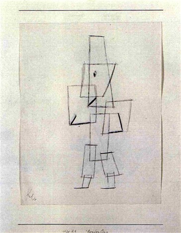 Paul Klee-Sonderling (Eccentric Person)-1930