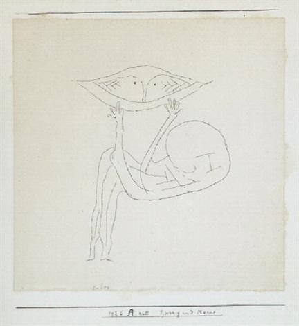 Paul Klee-Zwerg Und Maske (Dwarf And Mask)-1926