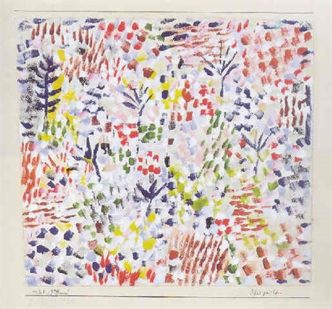 Paul Klee-Obstgarten-1925