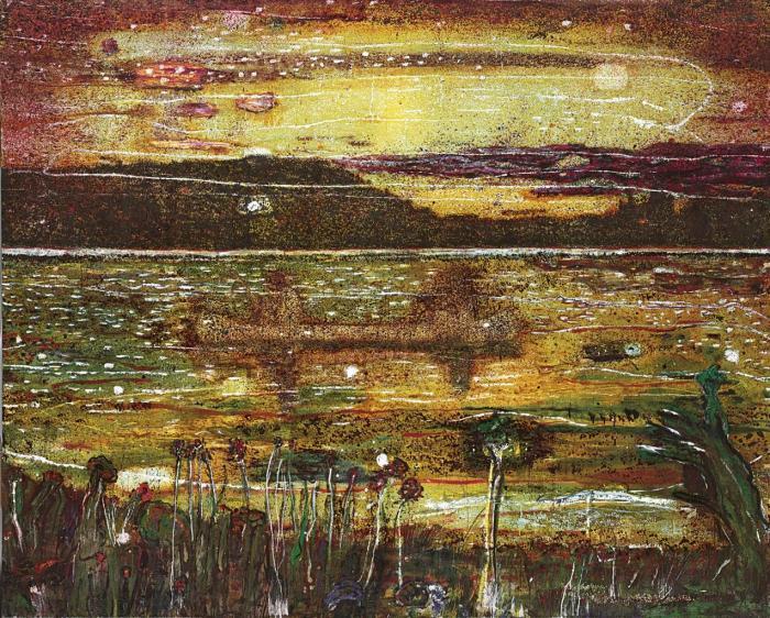 Peter Doig-Night Fishing-1993