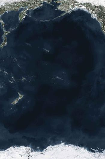 Andreas Gursky-Ocean V-2010