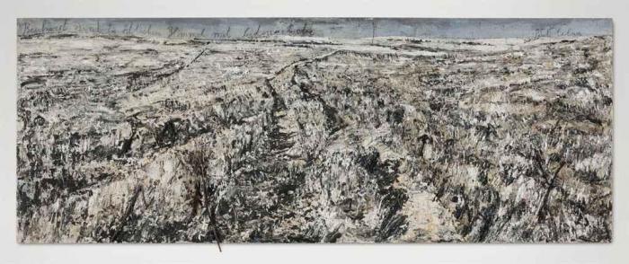Anselm Kiefer-Beschwert sind die ostlichen Himmel mit Seidengewebe... (The Eastern Skies are Laden with Silk...)-2004