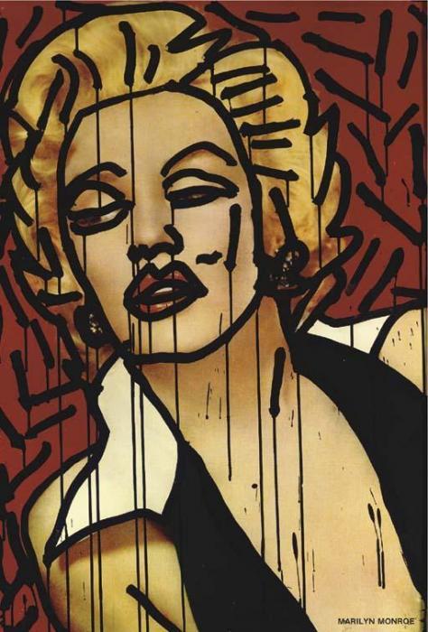 Keith Haring-Keith Haring - Marilyn Monroe-1981