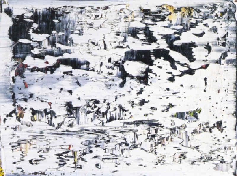 Gerhard Richter-Grat 3 (Ridge 3)-1989