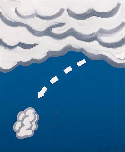 John Baldessari-Falling Cloud-1965