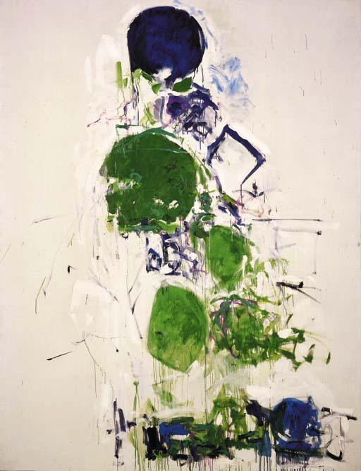 Joan Mitchell-River and Tree-1968