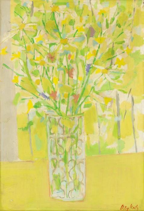 Alex Katz-Bouquet-