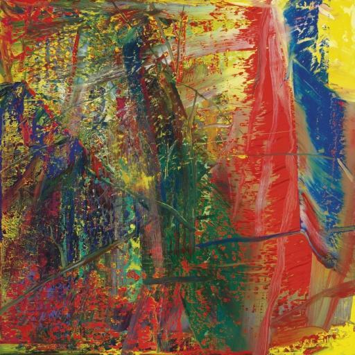 Gerhard Richter-Abstraktes Bild 610-4 (Abstract Painting 610-4)-1986