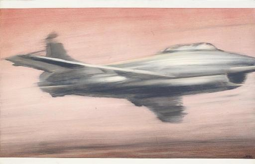 Gerhard Richter-Dusenjager (Jet Fighter)-1963