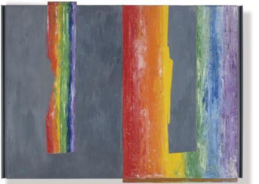 Jasper Johns-Untitled-1967