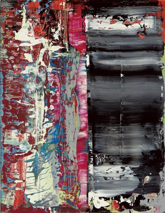 Gerhard Richter-Abstraktes Bild 716-24 (Abstract Painting 716-24)-1990