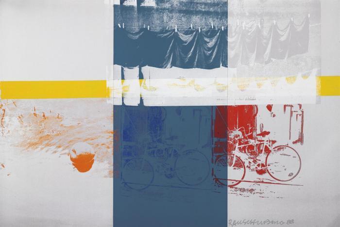 Robert Rauschenberg-Robert Rauschenberg - Apple Run (Shiner)-1988