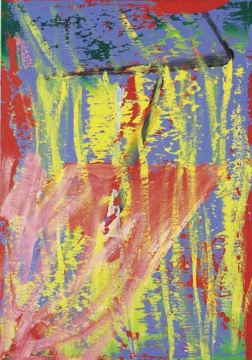 Gerhard Richter-Fall (521-2)-1983
