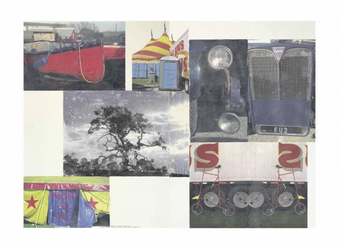Robert Rauschenberg-Robert Rauschenberg - Moors (Scenario)-2004