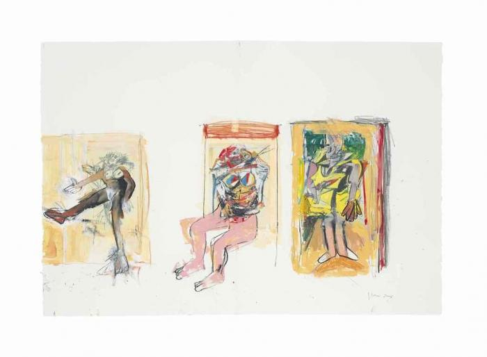 Richard Prince-Untitled (With De Kooning)-2006