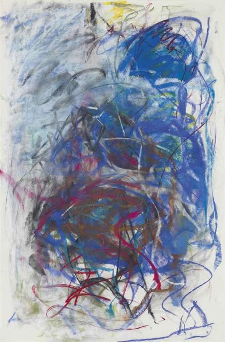 Joan Mitchell-Pastel-1991
