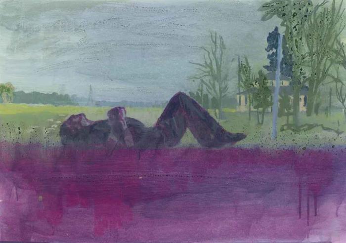 Peter Doig-Grasshopper-1999