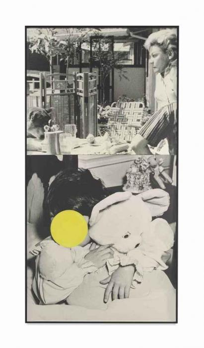 John Baldessari-Two Relationships Early (Warm) / Late (Cool) with One Risky-1984