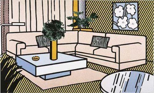 Roy Lichtenstein-Yellow Vase-1990