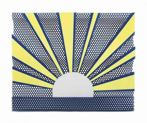 Roy Lichtenstein-Sunrise-1965