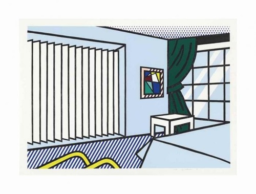 Roy Lichtenstein-Bedroom-1990