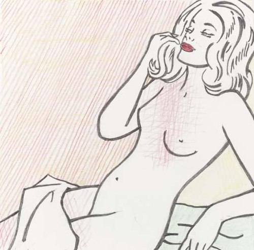 Roy Lichtenstein-Nude Sunbathing-1995