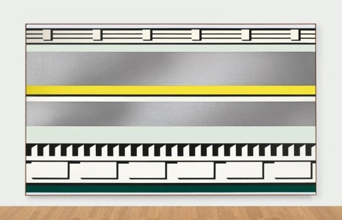 Roy Lichtenstein-Entablature-1975