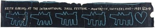 Keith Haring-Keith Haring - International Jazz Festival Montreux, Switzerland-1983