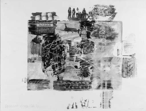 Robert Rauschenberg-Robert Rauschenberg - Yellow Body-1971