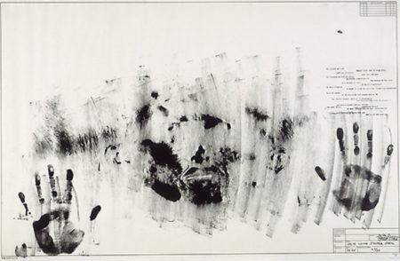 Jasper Johns-Skin with O'Hara Poem-1965
