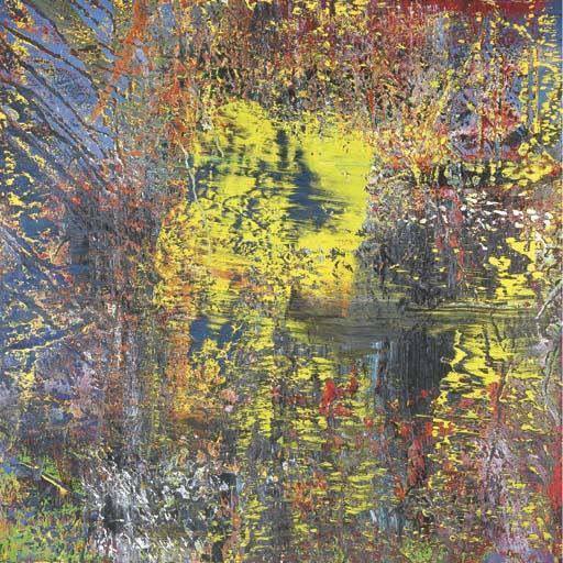 Gerhard Richter-Abstraktes Bild 634 (Abstract Painting 634)-1987