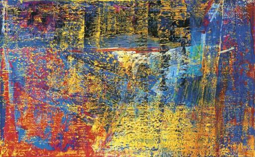 Gerhard Richter-Abstraktes Bild 625 (Abstract Painting 625)-1987