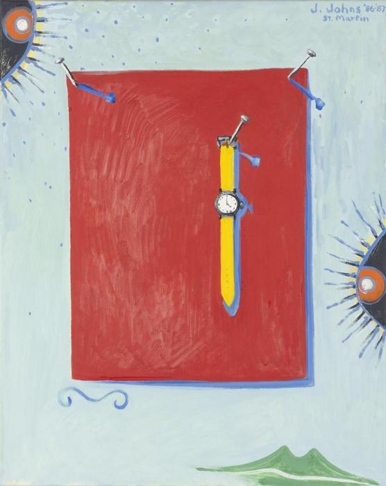 Jasper Johns-Untitled-1987
