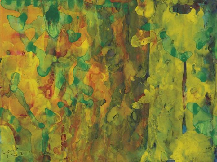 Gerhard Richter-Ohne Titel (6.3.91) / Untitled (6.3.91)-1991