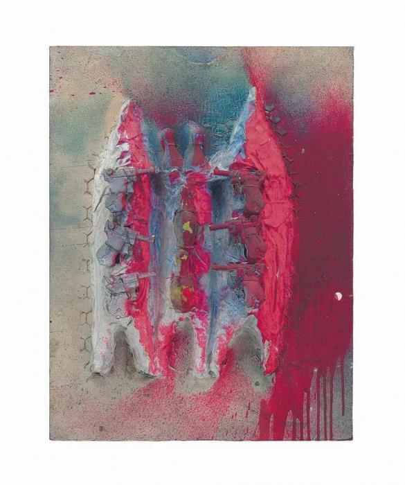 Niki de Saint Phalle-Cathedrale de Beauvais-1962