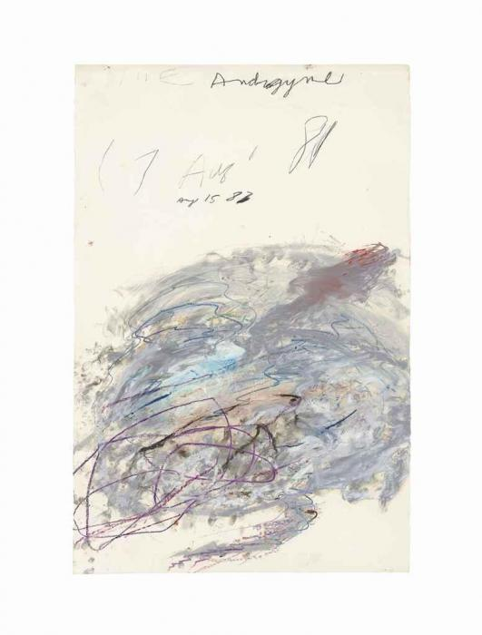 Cy Twombly-Nike Androgyne-1983