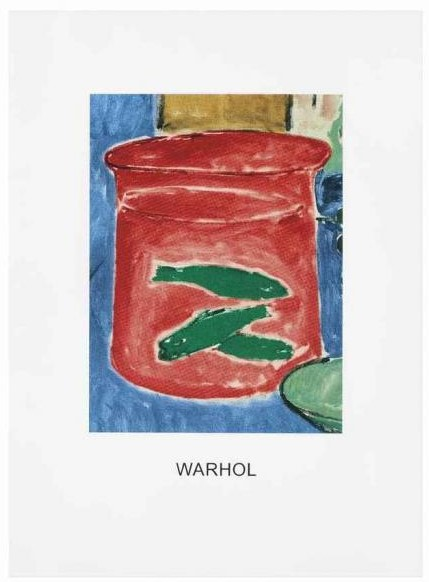 John Baldessari-Double Vision: Warhol Red-2011