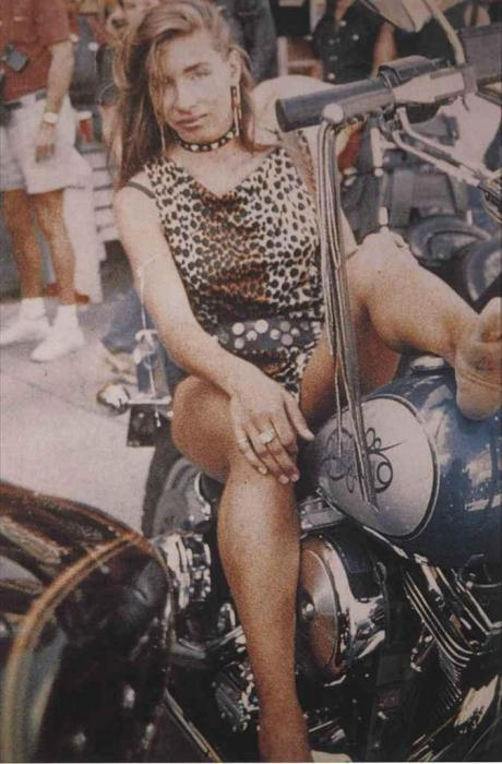 Richard Prince-Untitled (Girlfriend On Motorbike)-1993