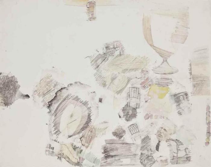 Robert Rauschenberg-Robert Rauschenberg - Drawing Room-1963