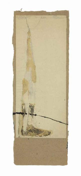 Robert Rauschenberg-Robert Rauschenberg - Untitled (Foot Dissection)-1952